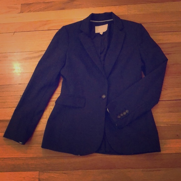 Jackets & Blazers - Banana Republic Navy Blazer